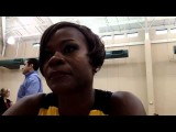 Sheryl Swoopes at Tulsa Shock media day