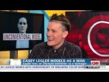 Video: Casey Legler talks modeling on CNN