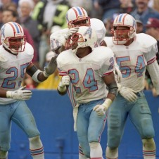 Houston Oilers v New England Patriots 1993