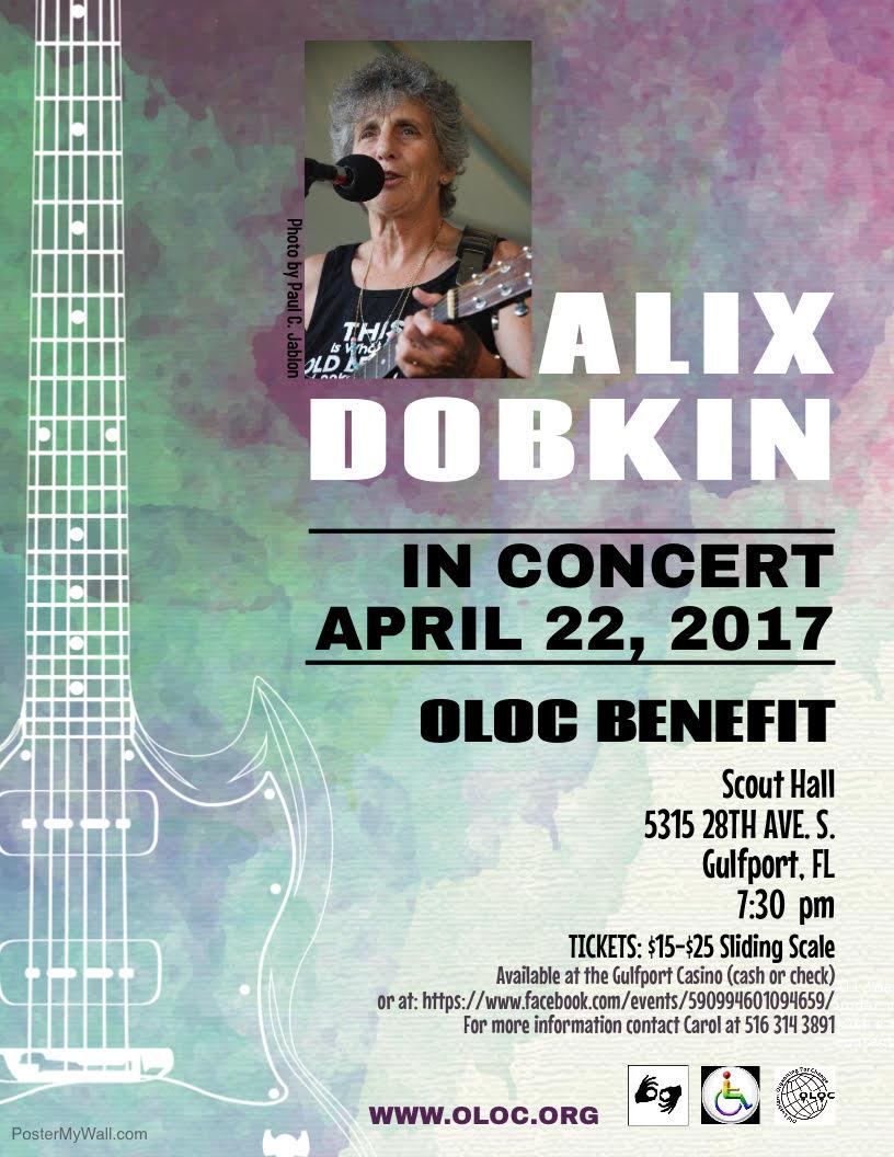 Alix Dobkin in Concert: Benefit for Old Lesbians Organizing for Change
