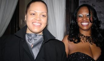 Davone Madison-Jackson and Tiffany Jackson