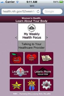 52 weeks of health app screenshot