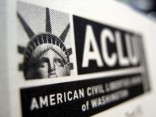 ACLU logo in black and white