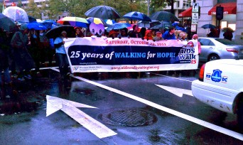 DC Whitman Walker Clinic AIDS walk
