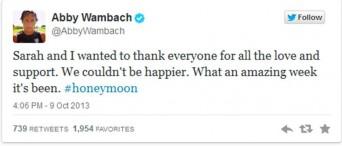 Abby Wambach tweet