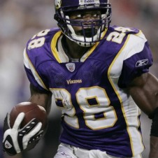 Minnesota Vikings running back Adrian Peterson