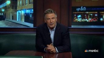 Alec Baldwin hosting MSNBC talk show