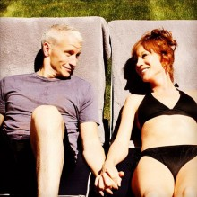 Recently out Anderson Cooper with close friend Kathy Griffin