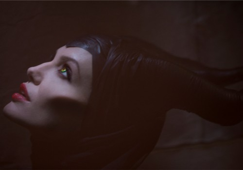 Angelina Jolie plays the title character in Disney's Maleficent