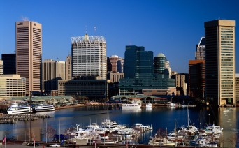 Baltimore Maryland waterfront