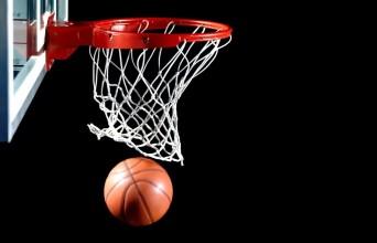 Basketball hoop and basketball