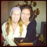Miki Markovich and grandma