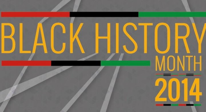 Black History Month 2014 banner