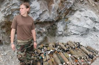 Lesbian soldier