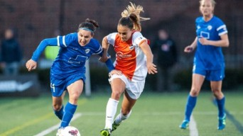 Boston Breakers battle Sky Blue FC