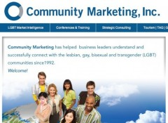 Community Marketing home page