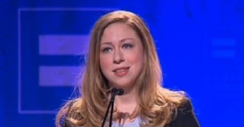 Chelsea Clinton at HRC Time to Thrive