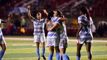 Chicago Red Stars celebrate victory