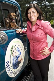 Maid to Clean founder and owner Cindi Bermudez