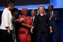 Hillary Clinton addresses 2012 AIDS Conference