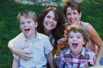 Cheryl Dumesnil and family