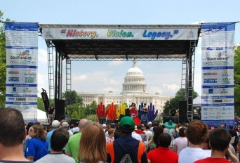 Main stage at DC Pride