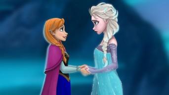 "Scene from Disney's ""Frozen"""