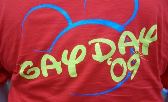Disney Gay Days tshirt