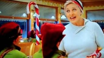 Ellen DeGeneres Christmas ad