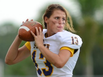 Florida high school quarterback Erin Dimeglio
