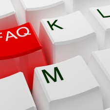 FAQ key on keyboard