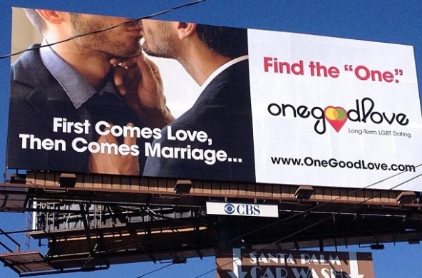 OneGoodLove billboard