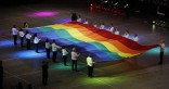 Gay Games 9 opening flag
