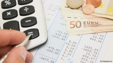 Tax forms, calculator and Euros