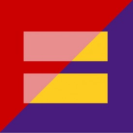 HRC logo blended with marriage equality logo