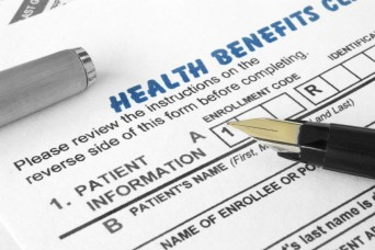 Health benefits form