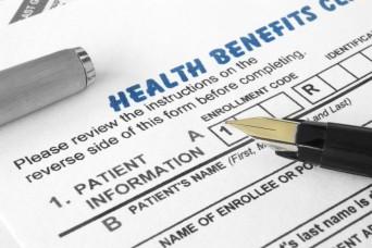 Health benefits form