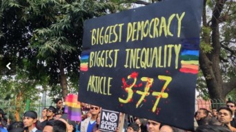 India protest for LGBT rights