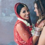 Lesbian wedding in India; Steph Grant, photographer