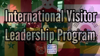 International Visitor Leadership Program logo
