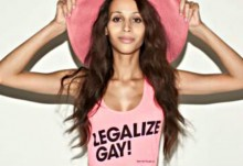 American Apparel hires Isis King