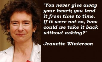 Jeanette Winterson quote
