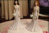 Jenny's Wedding cake toppers