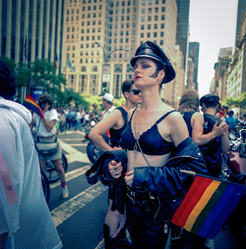 Queer fashion NYC pride 1989 (Photo: Joyce Culver)