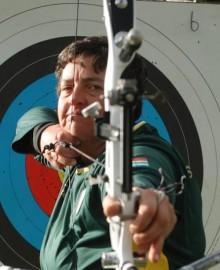 Olympic archer Karen Hultzer