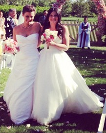 Kim Stolz and Lexi Ritsch wedding