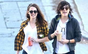Kristen Stewart and Alicia Cargile
