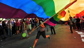 LGBT celebration in New Dehli