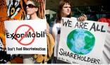Anti-ExxonMobil protestors