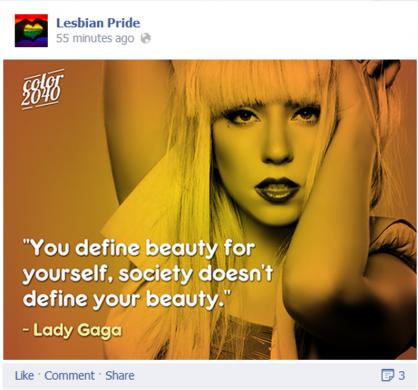 Lady Gaga beauty meme